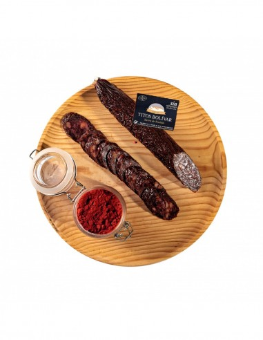 copy of Blood sausage mixed with chorizo